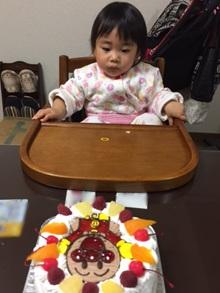 誕生日、アンパンマンのキャラクターケーキ