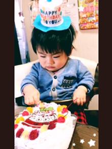 1歳の誕生日、キャラクターケーキ