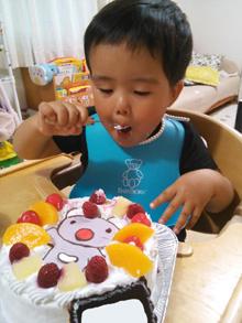 うっかりペネロペのキャラクターケーキ