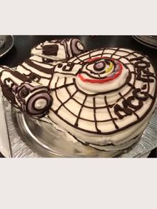 スタートレックの立体ケーキ