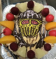 ジャギのキャラケーキ