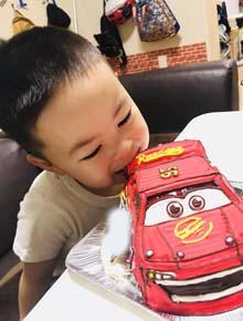 立体ケーキカーズ、お子様のお誕生日
