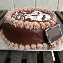 ファーストガンダムのチョコケ−キ、生チョコ