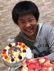 三日月宗近のキャラケ−キ、ご家族のお誕生日