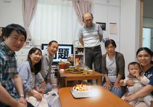 そらジローのキャラケーキ、初節句、お子様のお誕生日