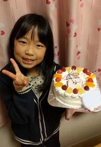すみっコぐらしのキャラケーキ、お子様のお誕生日