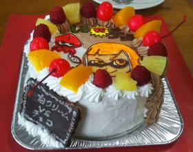 スプラトゥーンのキャラケーキ、ハロウィン
