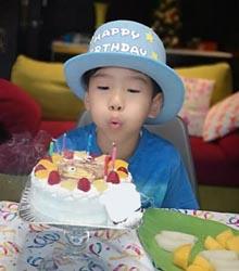 ゲゲゲの鬼太郎のキャラケーキ、お子様のお誕生日