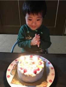 ミニオン・ボブのキャラケーキ