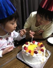 キャラケーキ、お子様のお誕生日