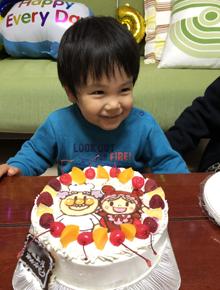 ジャムおじさんとあかちゃんまんのキャラクターケーキ