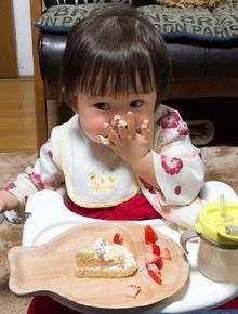 アンパンマンのひな祭りケーキ