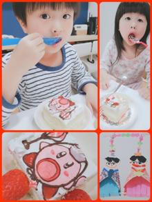 カービィケーキ(ひな祭りver)
