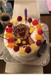 アンパンマンのキャラケーキ
