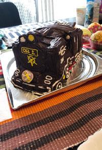 蒸気機関車C62 2号機の立体ケーキ