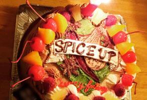 スパイスアップ・カリーファクトリーのケーキ