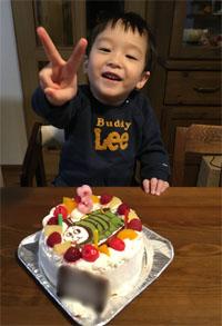 パーシーのケーキ