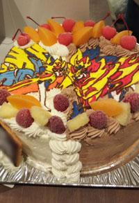 ポケモンのキャラケーキ