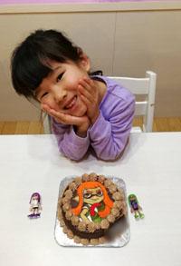 スプラトゥーンのキャラケーキ
