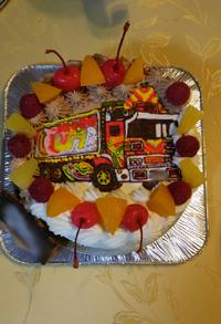 デコトラのケーキ