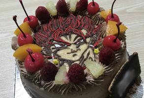 ドラゴンボールのベジットのケーキ