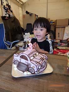 フィンマックミサイルの立体ケーキ