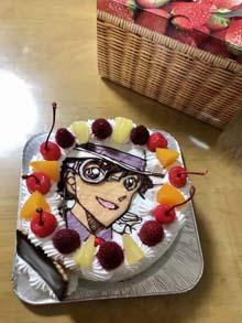 怪盗キッドのケーキ
