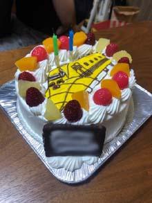 ドクターイエローのケーキ
