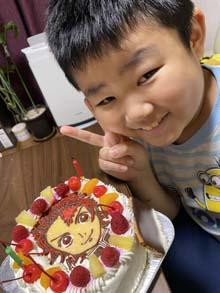 鬼滅の刃炭治郎のキャラケーキ