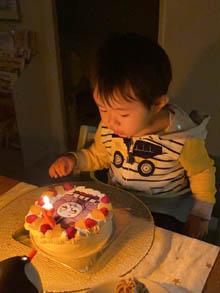トーマスのキャラケーキ