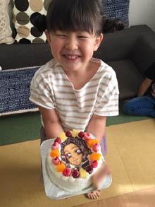 胡蝶しのぶのキャラケーキ