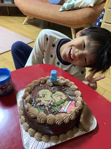 鬼滅の刃・炭次郎と禰豆子のケーキ