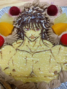 範馬刃牙のケーキ