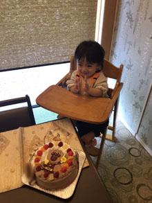 アンパンマンとJR中央線のキャラケーキ