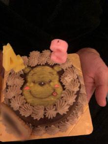 プーさんのケーキ