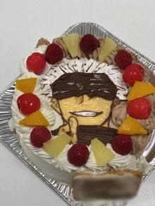 呪術廻戦の五条悟のキャラクターケーキ