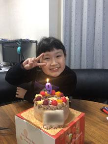 胡蝶しのぶのキャラクターケーキ