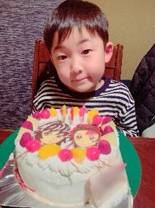 鬼滅の刃、炭治郎と冨岡義勇のケーキ