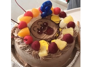 アンパンマンのキャラクターケーキ.JPG