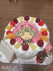 鬼滅の刃のケーキ