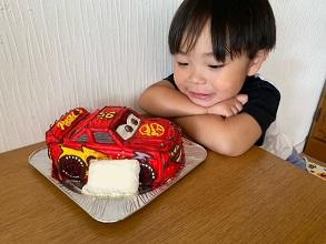カーズの立体ケーキ