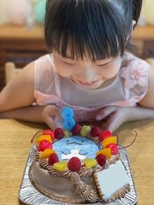 すみっコぐらしのとかげのケーキ