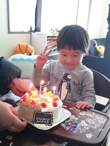 仮面ライダーキャラクターケーキ