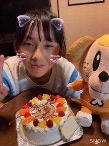 ジェネ犬のキャラクターケーキ