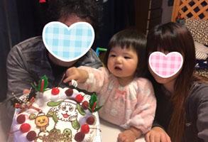 """ワンワンとうーたんのケーキ"""""""