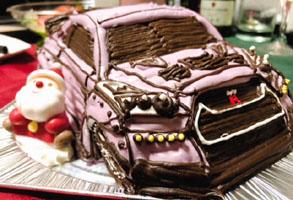 プーさんのキャラケーキ