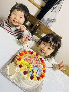 ヒーリングッどプリキュアのケーキ